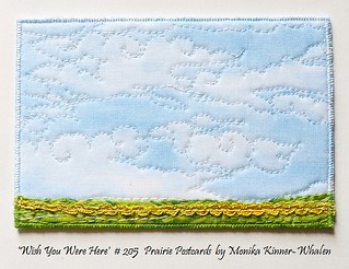 My Sweet Prairie 'Wish You Were Here' 2014 Postcards
