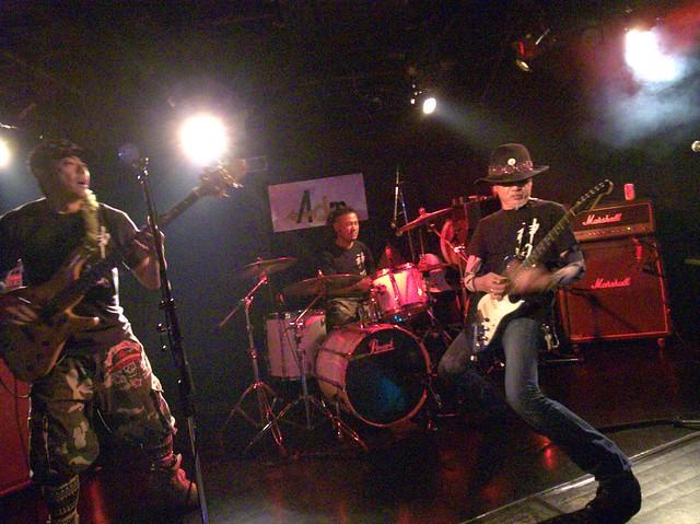 神風 KAMIKAZE live at Adm, Tokyo, 18 Apr 2014. 105
