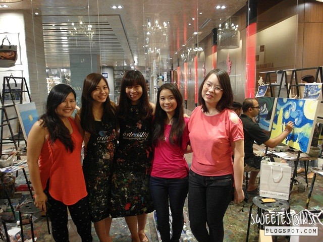 arteastiq tea lounge & art jam singapore beauty bloggers