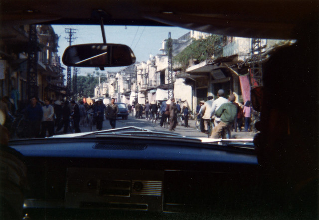 Hanoi Street Scene - Dec. 1975