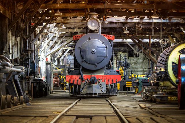Yarloop Steam Workshop, Yarloop, Western Australia