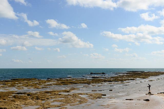 Misteriosas rocas cargadas de leyendas del Castillo de San Sebastián de Cádiz