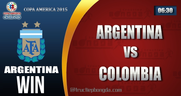 Argentina, Colombia, Thông tin lực lượng, Thống kê, Dự đoán, Đối đầu, Phong độ, Đội hình dự kiến, Tỉ lệ cá cược, Dự đoán tỉ số, Nhận định trận đấu, Copa America, Copa America 2015, Tứ kết Copa America 2015, Vô địch Nam Mỹ, Vô địch Nam Mỹ 2015, Tứ kết Vô địch Nam Mỹ 2015