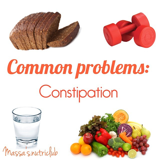 Constipation is a very common problem...