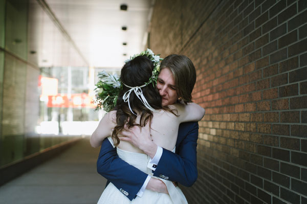 Celine Kim Photography Bellwoods Brewery intimate city wedding Toronto vintage ttc streetcar-27