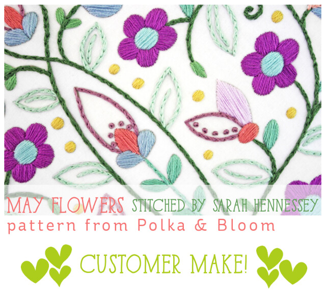 Customer Make: May Flowers