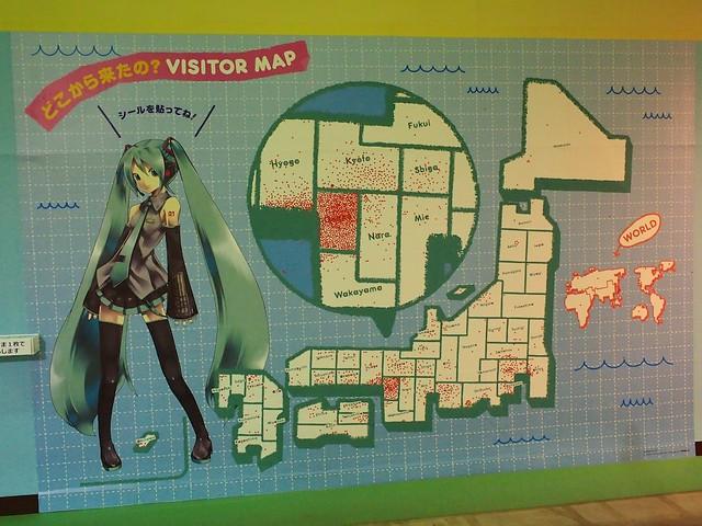 どこから来たの?VISITOR MAP