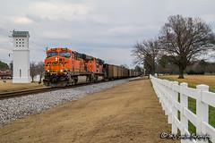 BNSF 5950   GE ES44AC   NS Memphis District