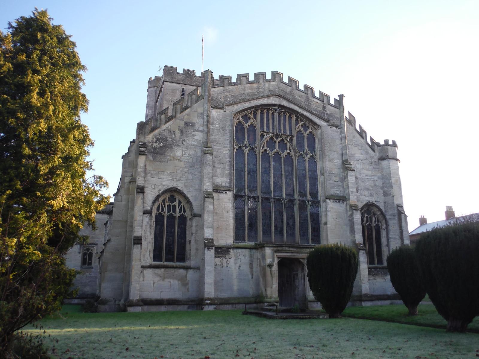 All Saints, Westbury SWC Walk 286 Westbury to Warminster (via Imber Range)
