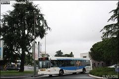Heuliez Bus GX 317 - SEMTAN (Société d'Économie Mixte des Transports de l'Agglomération Niortaise) / TAN (Transports de l'Agglomération Niortaise) n°110