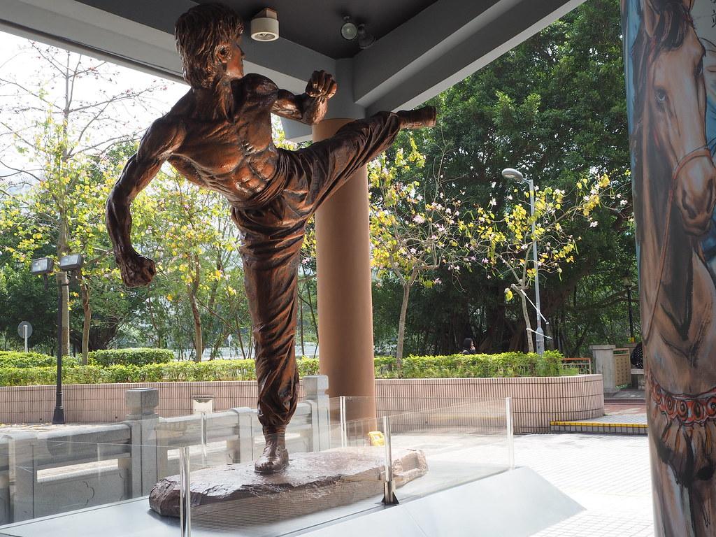 香港文化博物館ブルース・リー