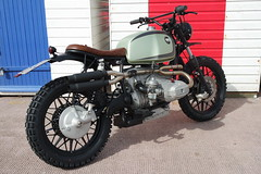 Gecko , BMW r100/7 Scrambler by Kevils Speed Shop