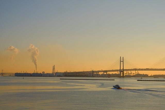 朝活 [機材沼] : 横浜の朝(3)