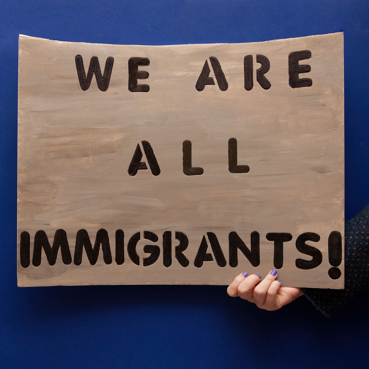 45 Protest Signs_Brandon and Olivia Locher_13_We Are All Imigrants