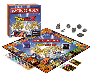"""傳說的超戰士們大亂鬥!《七龍珠Z》主題版MONOPOLY 地產大亨 """"Dragon Ball Z"""" Monopoly"""
