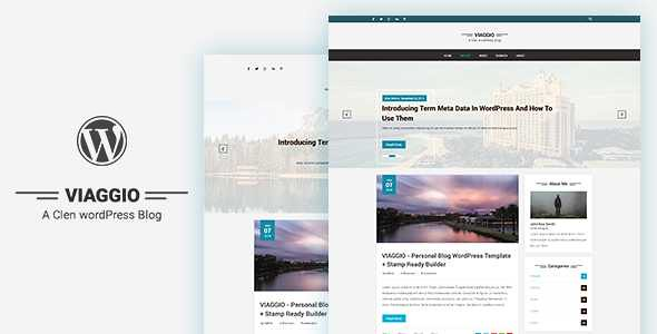 Viaggio WordPress Theme free download