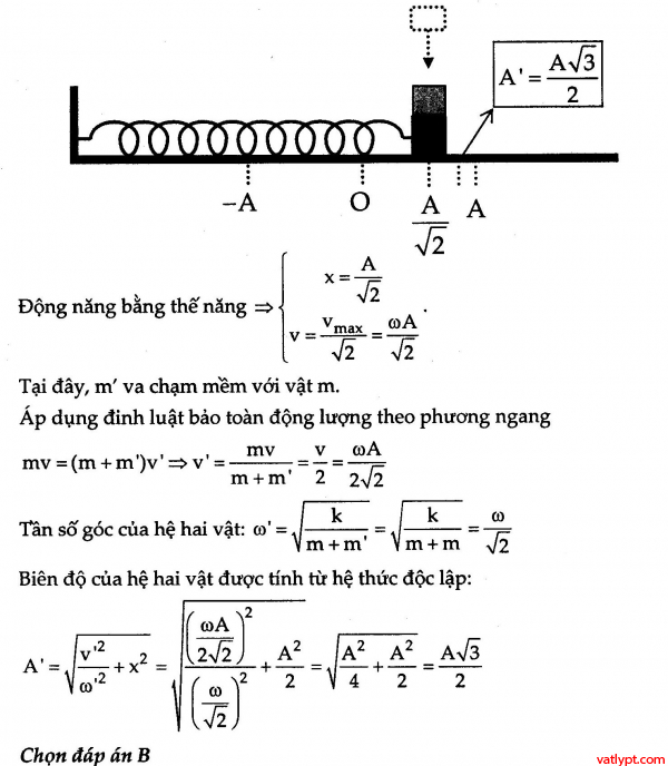 Bài tập dao động điều hòa của con lắc lò xo nâng cao