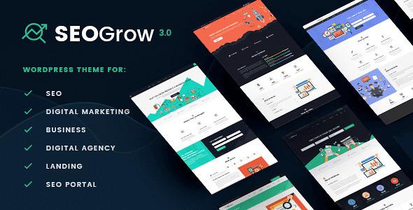 SEO Grow WordPress Theme free download