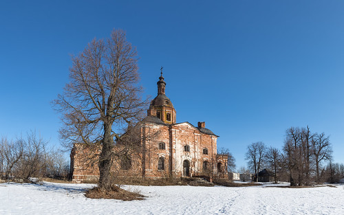cathedral spring dome landscape russia church nature orthodox winter architecture outdoor rural ryazanregion bell snow catedral landscapes outdoors saltykovo ryazanskayaoblast ru