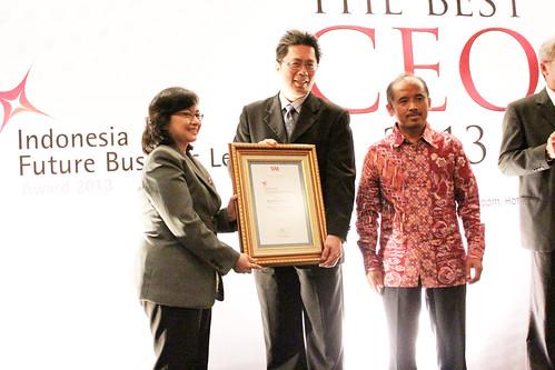 The Indonesia Future Business Leader 2013: Susanto Samsudin.