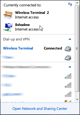 how to connect mobile hotspot to pc in windows 8