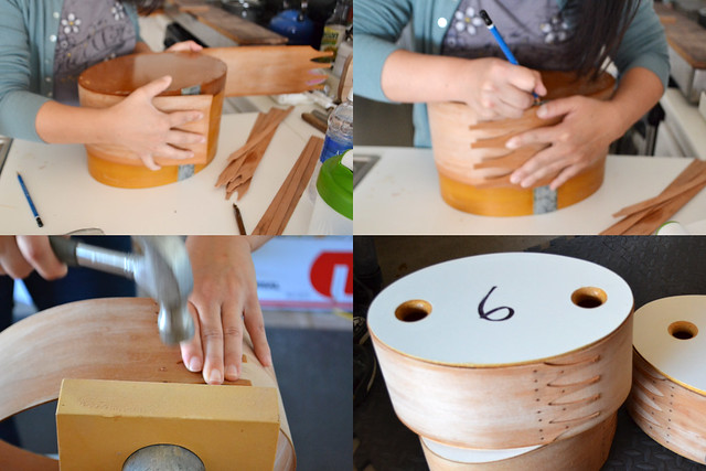 Making of Shaker Boxes