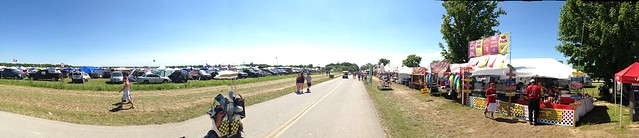 Bonnaroo 2013 - Picture taken looking down Shakedown Street.