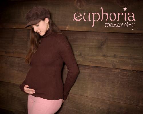 early Euphoria shoot, pregnant