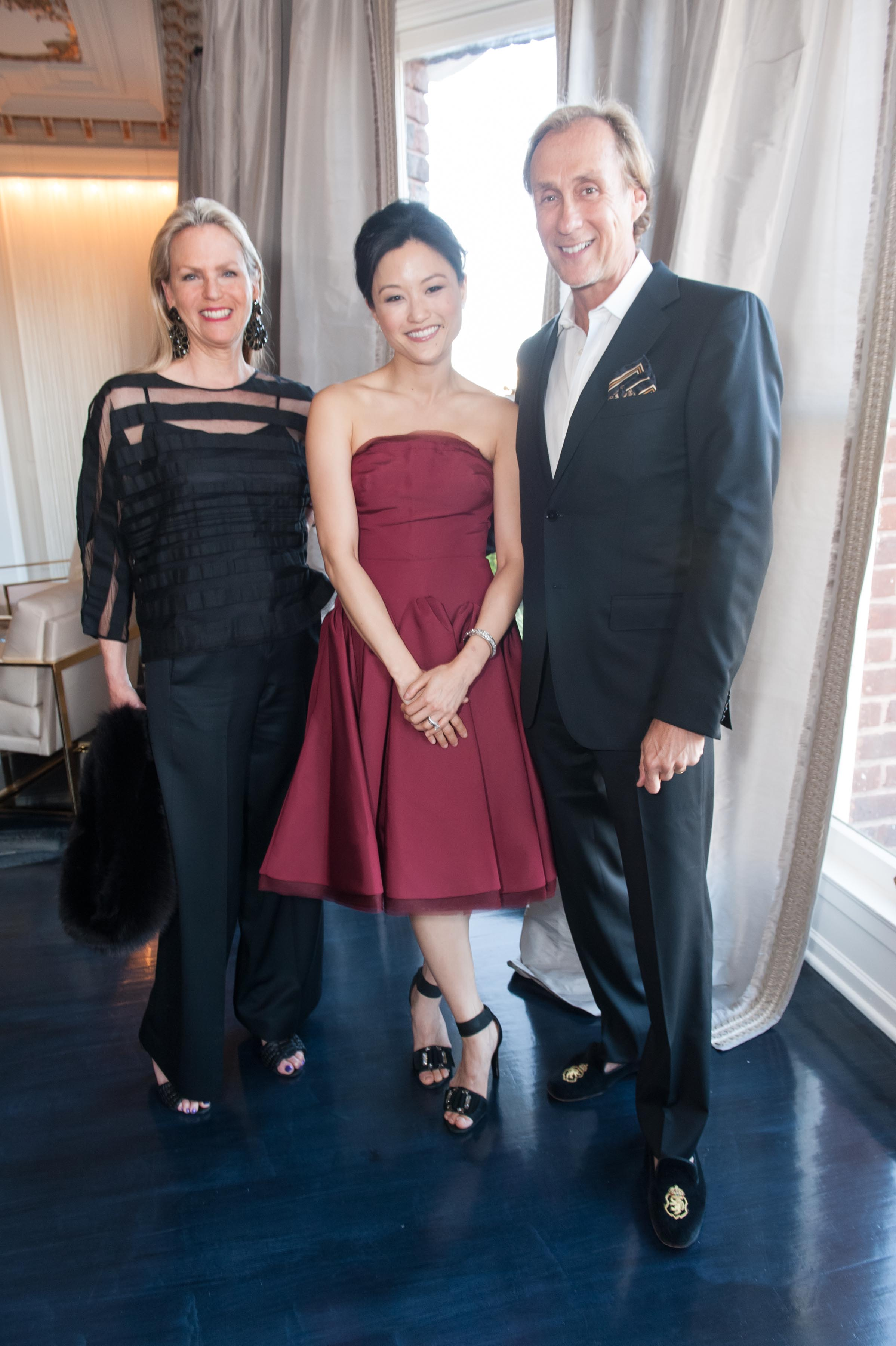 Brenda Mickel, Katherine Kwong, Ned Mobley