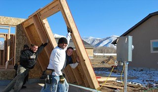 homebuilding for low-income residents in Payson, UT (courtesy of Local Initiatives Support Corporation)