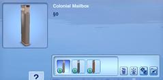 Colonial Mailbox