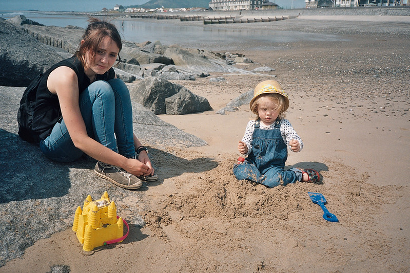 First Sand castles