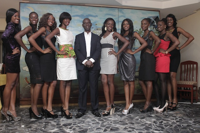Uncle Ebo meets Miss Ghana 2013 finalists (12)