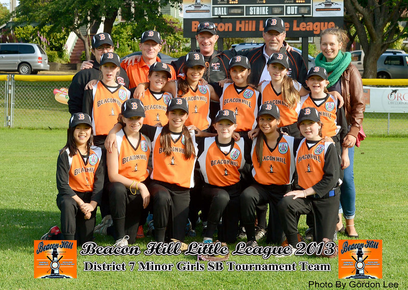 2013 BHLL Minor Girls All Stars