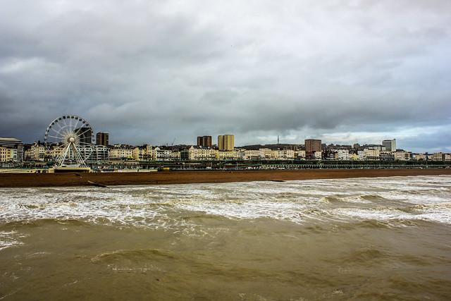 Brighton en el Reino Unido