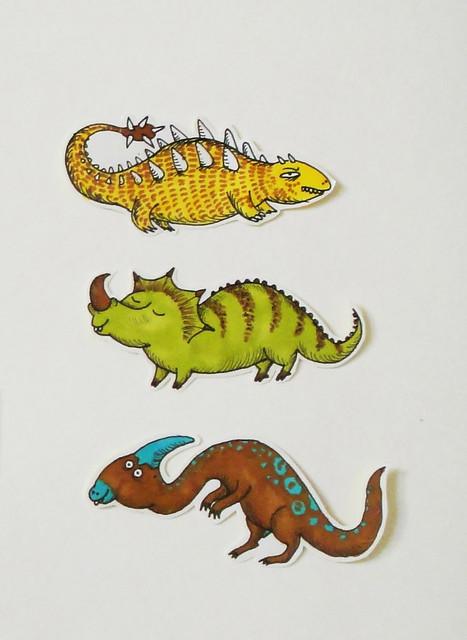 Dinostickers