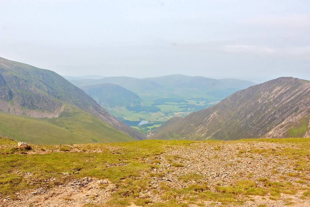 Down Gasgale Gill to Crummock Water