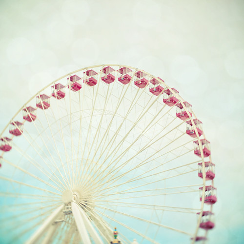 Navy Pier Ferris Wheel by The Shutterbug Eye™