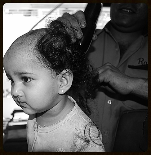 Marziya Goes Bald 15 Month Old by firoze shakir photographerno1
