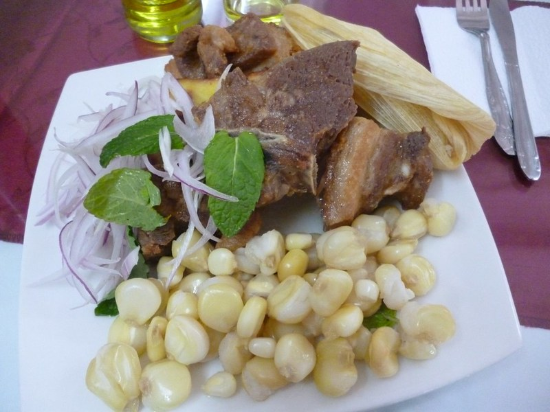 Chicharrón loaded with fat and cholesterol