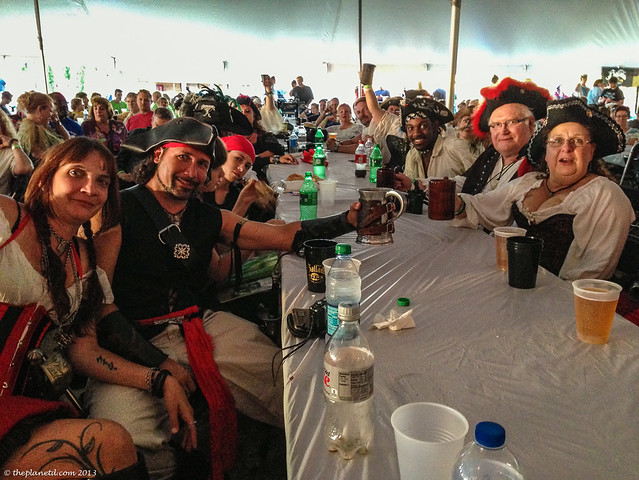 Beer tent tall ships