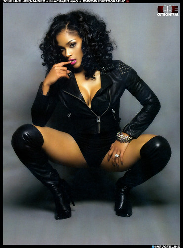 Joseline Hernandez Black men Magazine photospread