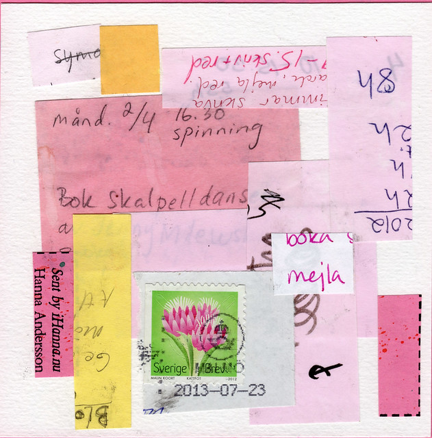 Collage: Taking Notes 7