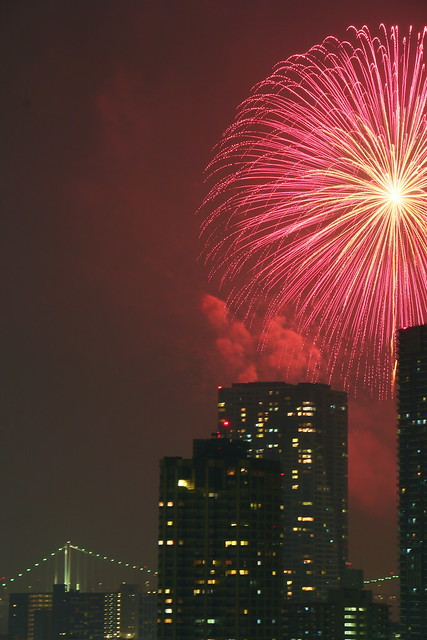 Tokyo Bay Fireworks Festival 2013 Canon EOS 70D 05