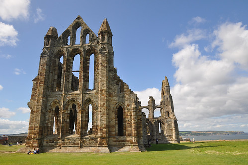 Whitby Abbey - east face