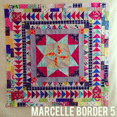 #marcellemedallion border 5! #patchwork #sew #sewing #medallionalong