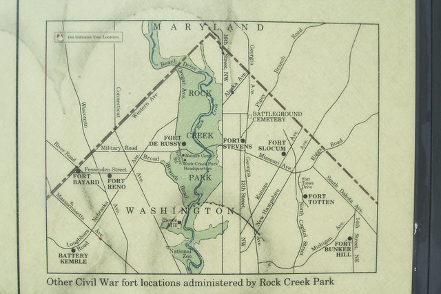 fort bunker hill map