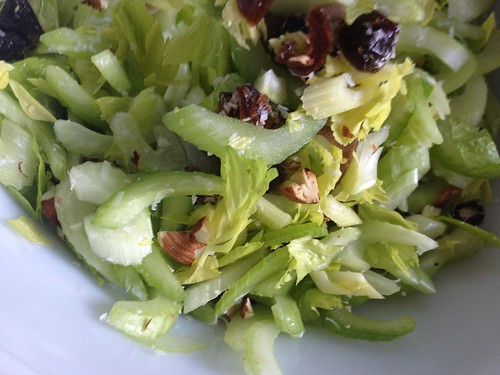 Celery Salad with Dates, Almonds and Parmesan katie