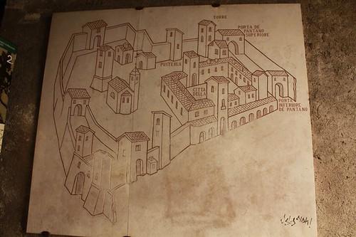 Cittadella: la cartina
