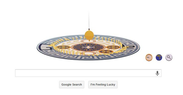 The Foucault Pendulum gets the Google Treatment!